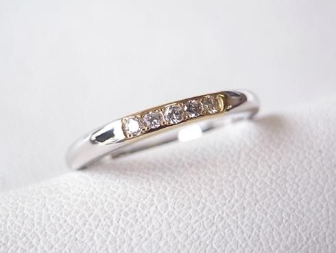 結婚指輪の修理 07