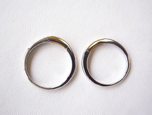 結婚指輪の修理 08