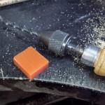 切削機に相性の良いワックス(オレンジ)