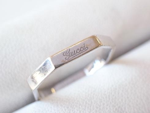 グッチの結婚指輪(LINK TO LOVE ) 新品加工01