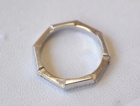 グッチの結婚指輪(LINK TO LOVE ) 新品加工03