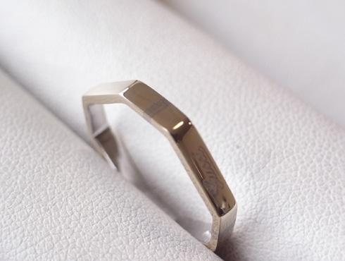グッチの結婚指輪(LINK TO LOVE ) 新品加工04