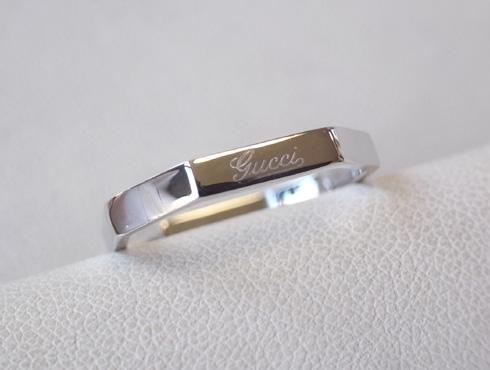 グッチの結婚指輪(LINK TO LOVE ) 新品加工05