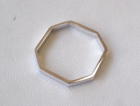 グッチの結婚指輪(LINK TO LOVE ) 新品加工06