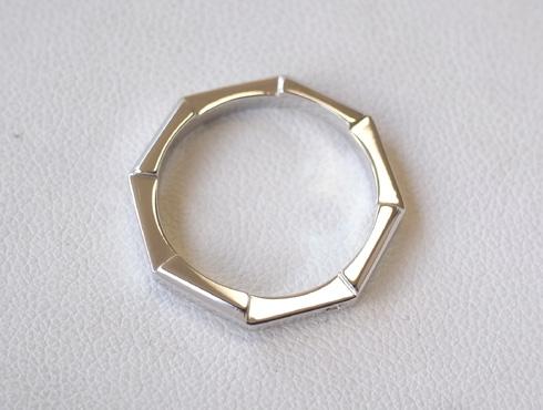 グッチの結婚指輪(LINK TO LOVE ) 新品加工11