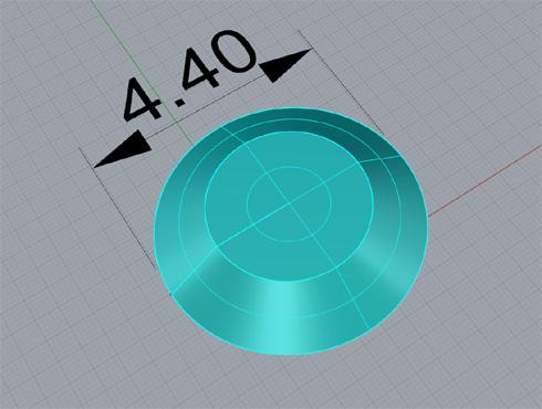 CAD(ライノセラス)で石枠データ作成 02