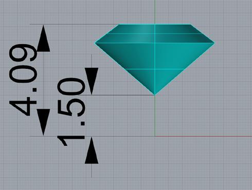 CAD(ライノセラス)で石枠データ作成 03