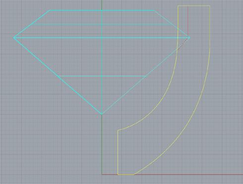 CAD(ライノセラス)で石枠データ作成 07