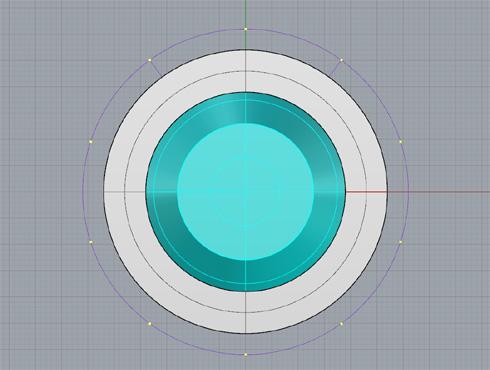 CAD(ライノセラス)で石枠データ作成 09