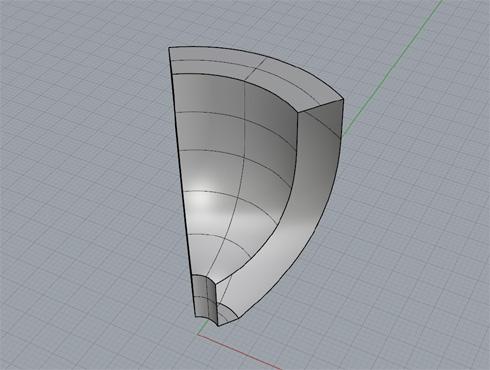 CAD(ライノセラス)で石枠データ作成 13