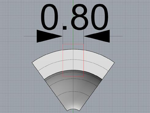 CAD(ライノセラス)で石枠データ作成 14