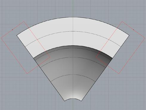 CAD(ライノセラス)で石枠データ作成 15
