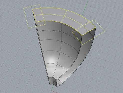 CAD(ライノセラス)で石枠データ作成 16