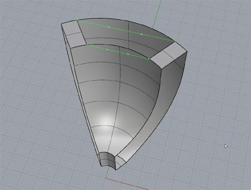 CAD(ライノセラス)で石枠データ作成 17
