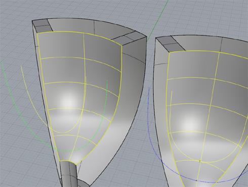 CAD(ライノセラス)で石枠データ作成 19