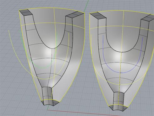 CAD(ライノセラス)で石枠データ作成 20