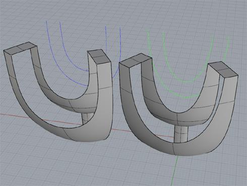 CAD(ライノセラス)で石枠データ作成 21