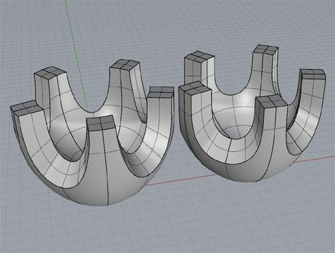 CAD(ライノセラス)で石枠データ作成 24