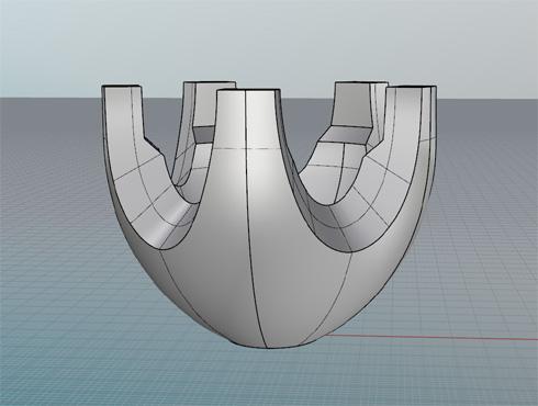 CAD(ライノセラス)で石枠データ作成 26