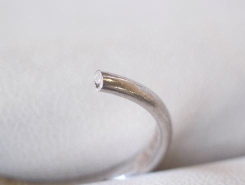 消防署で切ってもらった結婚指輪の修理とサイズ直し02