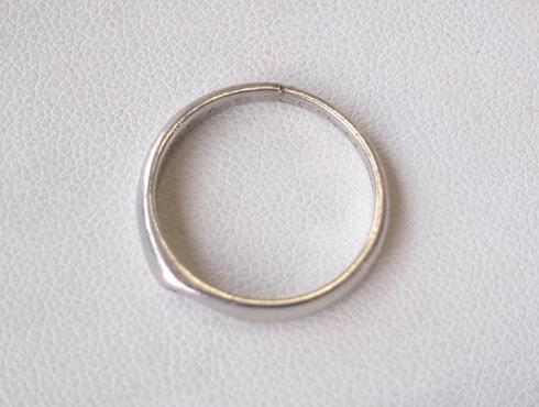 消防署で切ってもらった結婚指輪の修理とサイズ直し03