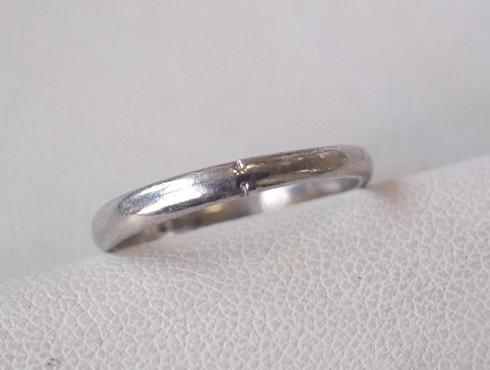 消防署で切ってもらった結婚指輪の修理とサイズ直し04