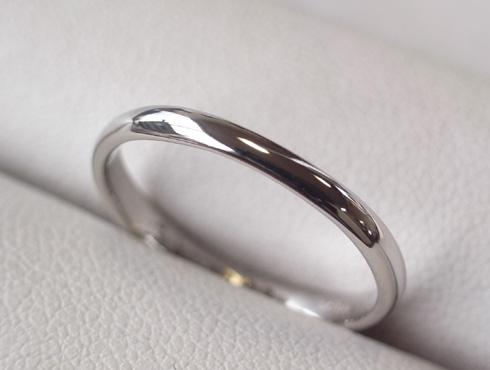 消防署で切ってもらった結婚指輪の修理とサイズ直し13
