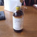 ジュエリー製作で使う薬品