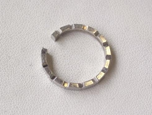 シャネルの結婚指輪のサイズ直しと修理 02