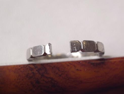 シャネルの結婚指輪のサイズ直しと修理 03
