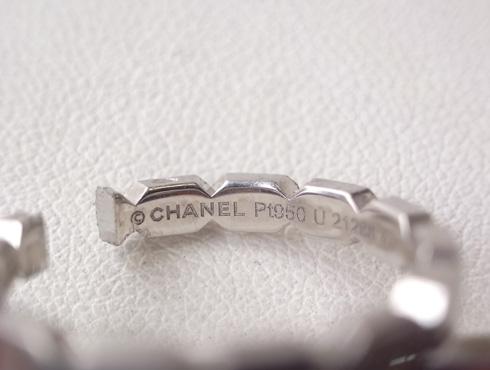 シャネルの結婚指輪のサイズ直しと修理 04