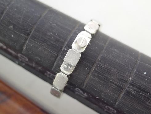 シャネルの結婚指輪のサイズ直しと修理 06