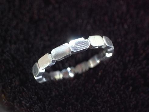 シャネルの結婚指輪のサイズ直しと修理 08