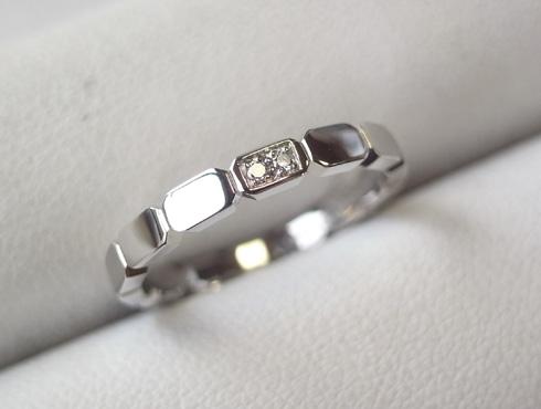 シャネルの結婚指輪のサイズ直しと修理 10