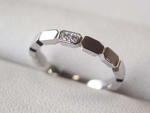 シャネルの結婚指輪のサイズ直しと修理 11