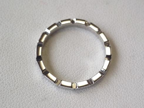 シャネルの結婚指輪のサイズ直しと修理 12