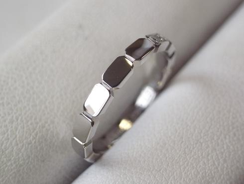 シャネルの結婚指輪のサイズ直しと修理 13