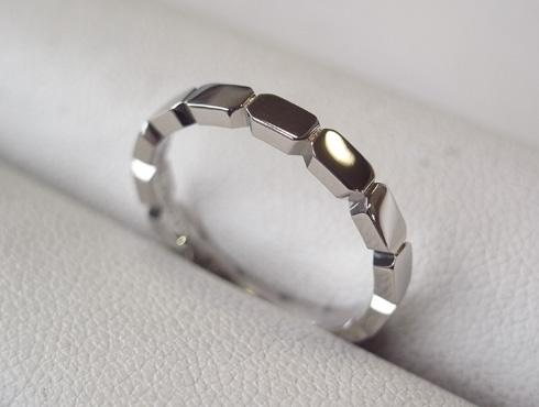 シャネルの結婚指輪のサイズ直しと修理 14