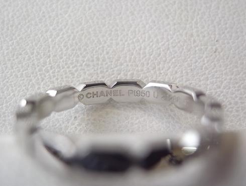 シャネルの結婚指輪のサイズ直しと修理 15
