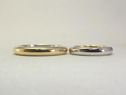 シンプルだけど、こだわりのある結婚指輪 01