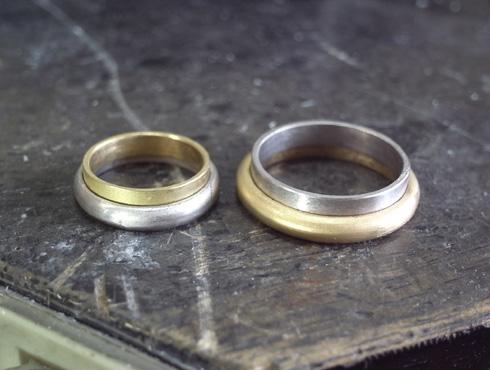 シンプルだけど、こだわりのある結婚指輪 製作過程 01