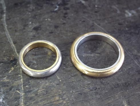 シンプルだけど、こだわりのある結婚指輪 製作過程 02