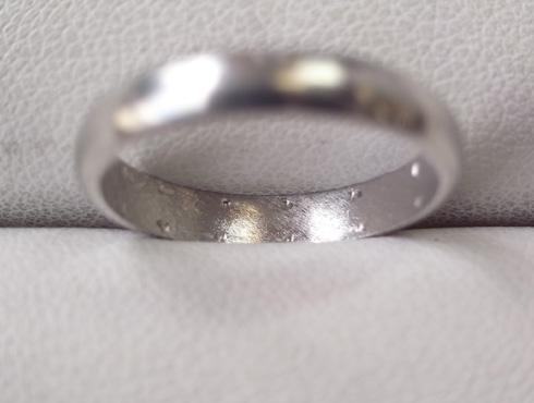 シンプルだけど、こだわりのある結婚指輪 製作過程 05
