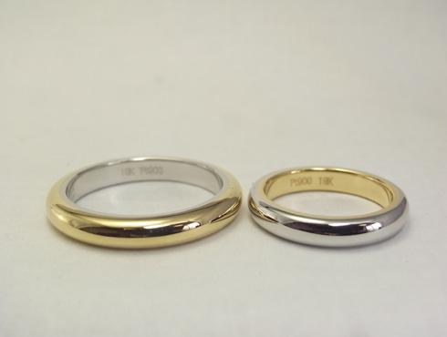 シンプルだけど、こだわりのある結婚指輪 03