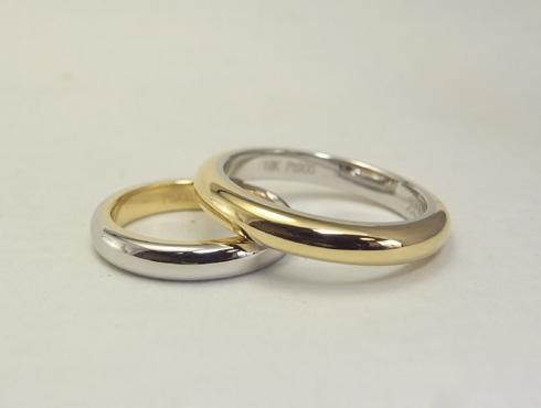 シンプルだけど、こだわりのある結婚指輪 04