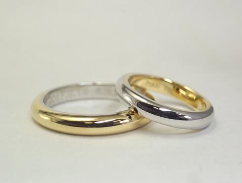 シンプルだけど、こだわりのある結婚指輪 05