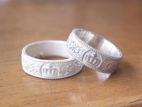 王冠の結婚指輪 01