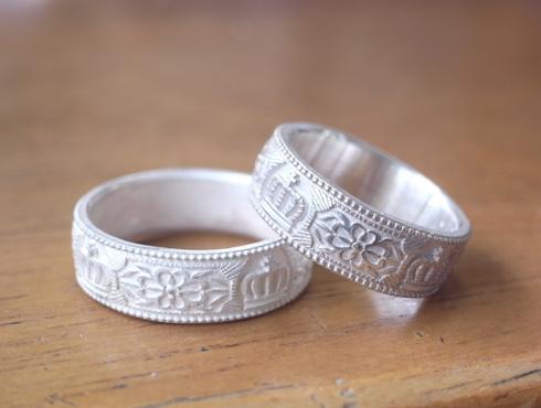 王冠の結婚指輪 02