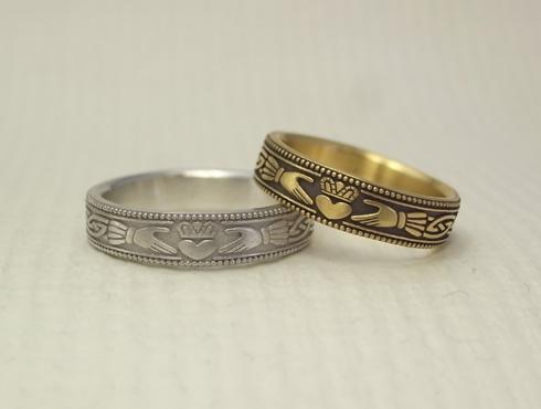 クラダリング 個性的な結婚指輪