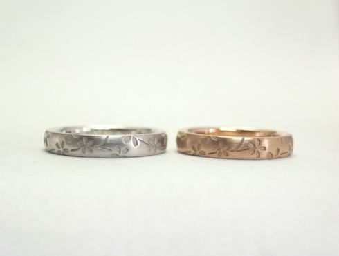 桜の結婚指輪 02
